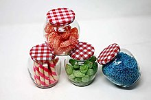 Ash & Roh Glass Matka Shape Food Canister - 4