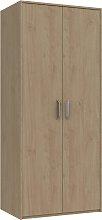 Ashdown 2 Door Wardrobe - Oak Effect