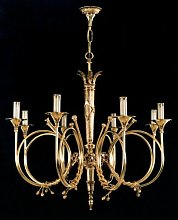 Ashlock 8 Light Candle Chandelier Astoria Grand