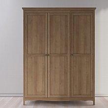 Ashlyn 3 Doors Wardrobe Union Rustic
