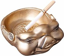 Ashtray Creative Pig Personality Resin Home Living