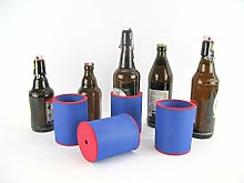 asiahouse24 4 x Blue Drinks Coolers, Beer Cooler,