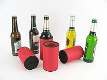asiahouse24 4 x Red Drinks Coolers, Beer Cooler,