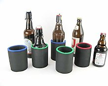 asiahouse24 5 x Black Drinks Coolers, Beer Cooler,