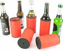 asiahouse24 5 x Orange Drinks Cooler - Beer Cooler