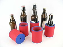 asiahouse24 5 x Red Drinks Coolers, Beer Cooler,