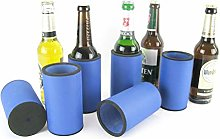 asiahouse24 6 x Blue Drinks Coolers, Beer Cooler,