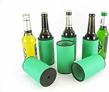 asiahouse24 6 x Green Drinks Coolers, Beer Cooler,