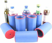 asiahouse24 8 x Blue Drinks Coolers, Beer Coolers,
