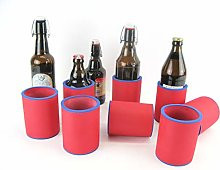 asiahouse24 8 x Red Drinks Coolers, Beer Coolers,