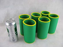 asiahouse24 Set of 6 Drinks Coolers, 0.5 L Can,