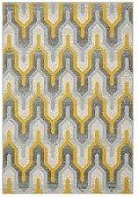 Asiatic Nova Geo Yellow Rug