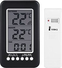 Asixx Indoor Outdoor Thermometer, LCD Digital