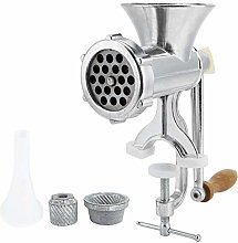 Asixxsix Hand Grinder, Food Meat Grinder Manual