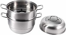 Asixxsix Kitchen Pot, Multifunction Food Steamer,