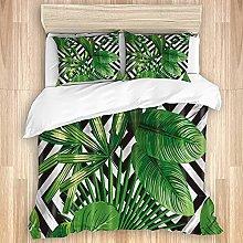 ASNIVI Washed Cotton Duvet Cover Set,Bed quilt