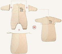 ASNX Winter Cotton Baby Pajamas, Boy Girl Unisex