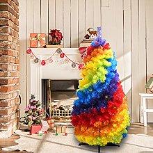 ASOSMOS 4FT Equal Love Rainbow Christmas Tree
