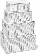 ASP Storage Basket Hamper (Set of 4) Storage Bin