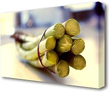 Asparagus 2 Kitchen Canvas Print Wall Art East