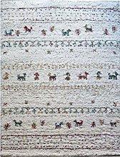 ASPECT Bukhara Striped Thick Soft Shaggy Rug,