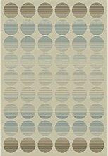 ASPECT Fade Polka Indoor/Outdoor Dots Rug-Blue &