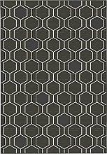 ASPECT Genevieve Trellis Hexagon Pattern Area Rug,