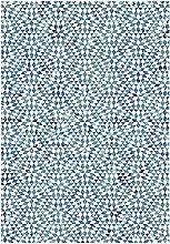 ASPECT Kaleido Vintage Geometric Pattern Area Rug,