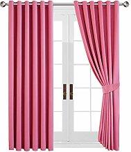 Aspire Homeware Pink Curtains for Girls Bedroom