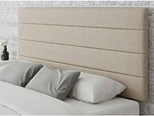Aspire - Langston headboard in Malham Weave Linen,