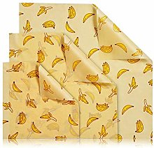 Assorted 3 Pack Beeswax Wrap,Reusable Food