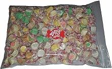 Assorted Dessert Flavours Salt Water Taffy 1kg Bag