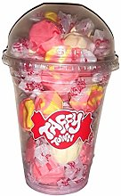 Assorted Strawberry Salt Water Taffy Cup
