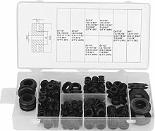 Assortment 180Pcs Washers Rubber Gasket for Car