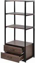 ASSR 4-Tier Floor Storage Cabinet Tall Cabinets