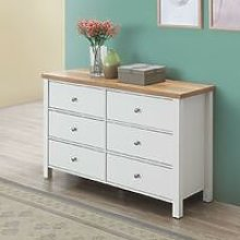 Astbury 6 Drawer Bedroom Cabinet Chest of Drawers