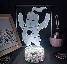 Astora Figurine 3D Figurine 3D lamp Powered by RVB