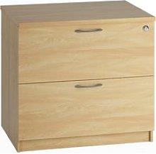Astrada Side Filing Cabinet (Oak), Oak