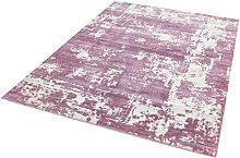 ASTRAL - Contemporary design rug - Purple - 120 x