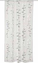 Astrid Raw Curtain 140x250 cm white grey