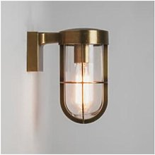Astro Lighting - Antique Brass Cabin Wall Light -