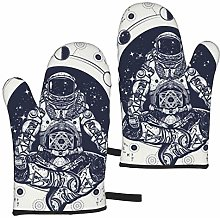 Astronaut In Lotus Position Tattoo Art And T Shirt