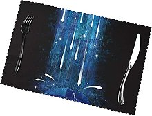 Astronaut with Umbrella Printing Placemats for