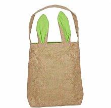 Asunflower Easter Bunny Ears Bag for Egg Hunts