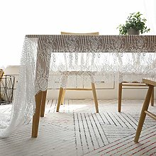 Asunflower Elegant Lace Tablecloth for Wedding