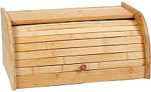 Asunflower Natural Bamboo Roll Top Bread Box