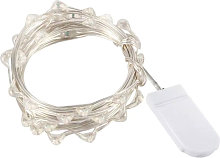 Asupermall - 10 LEDs Fairy Lights Copper Wire