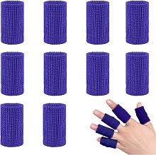 Asupermall - 10pcs Finger Sleeves Brace Finger