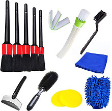 Asupermall - 13PCS Cleaning Brush Tool Set Car