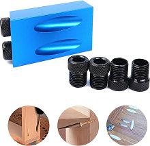 Asupermall - 14 Pack Pocket Hole Jig Kit Pocket